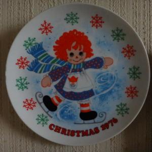 可愛い絵皿