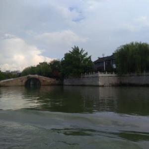 蘇州 新市橋埠頭の古運河游船