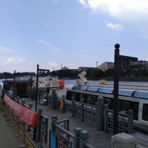 蘇州 相門埠頭の古運河游船