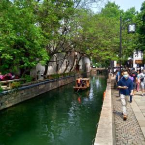 蘇州 上海から蘇州への移動(2020年労働節編)