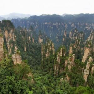 湖南省 張家界 武陵源の張家界国家森林公園