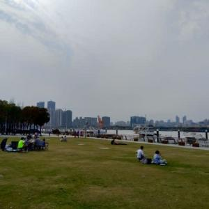 上海 無料の公園巡り 世博公園と後灘公園