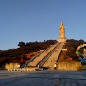 蘇州 2021年のお正月 太湖西山 大如意聖境へ初詣