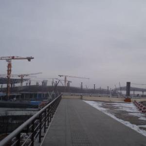 長春 長春龍嘉国際空港T2の建設工事