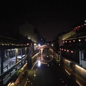 上海 新場古鎮で晩ごはん