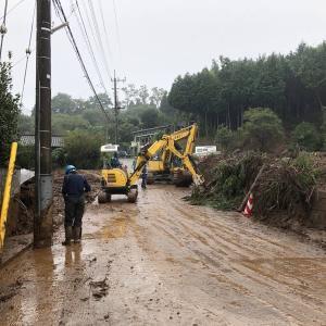 台風19号被害状況〜八王子市下恩方町