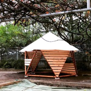 やよいこども園にフォレストドームを設置