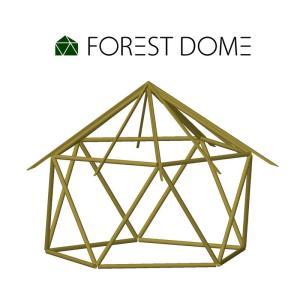 Forestdomeを3DCADでつくってみた
