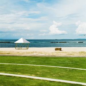 フォレストドームのある風景〜海辺の風景