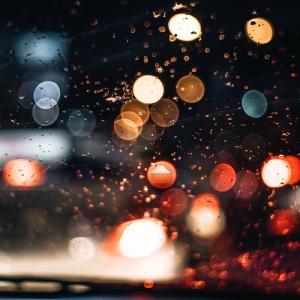 フォレストドームのある風景〜水滴に浮かび上がる夏の夜の夢