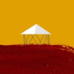 フォレストドームのある風景〜グラフィカルな表現を試してみた