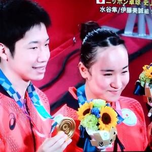 ニッポン卓球が中国破り金メダル!水谷・美誠やったぞ!でかしたぞ!