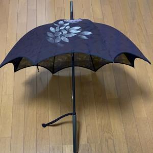 「夏の道行で作る日傘」