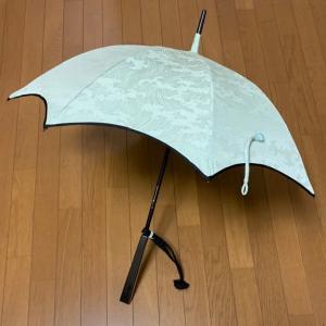 「久しぶりの日傘作り」