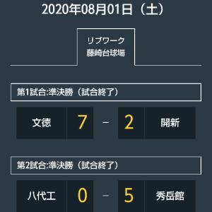 今日の藤崎台球場は、熊本市大会、城南地区大会それぞれの準決勝。