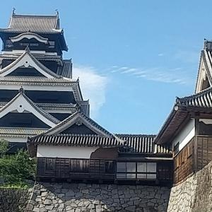 コロナ感染拡大防止の為に熊本城の特別公開が明日からお休みになります。
