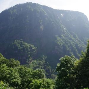 8月2日 海谷山塊・駒ヶ岳あえなく撤退。それじゃあ海谷高地へ。その2