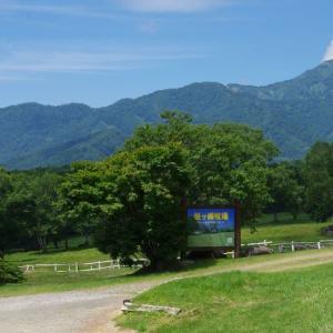 8月10日 笹ヶ峰牧場周辺の山岳展望