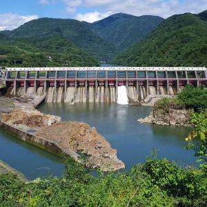 9月5日 阿賀町・東北電力鹿瀬ダムとハーバルパーク