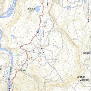 9月19日 鳥甲山に登る前日、谷の展望台へ