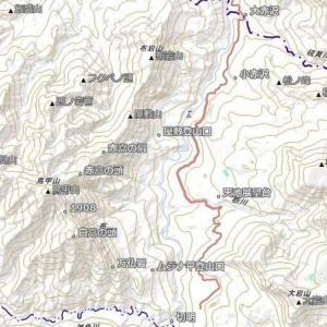 9月20日 秋山郷・鳥甲山 その2 鳥甲山山頂まで。