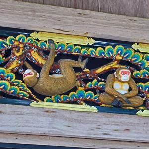 日光東照宮の見猿、言わ猿、聞か猿