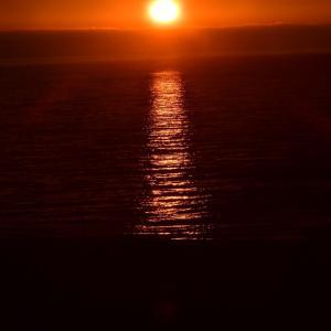 礼文島の朝日