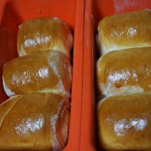 パンを焼きました