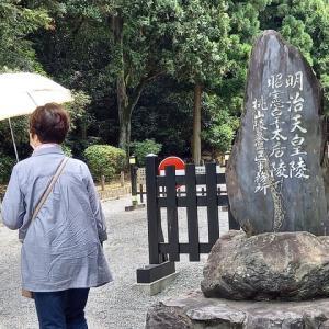 桃山御陵へ(桓武天皇陵)