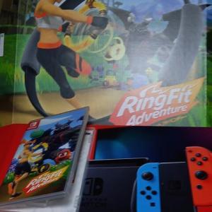 任天堂Switch~RingFitAdventure