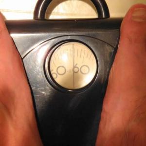 目標と体重のはざまで・・・