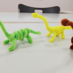 モールで恐竜☆