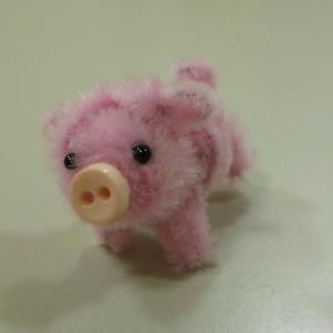 癒しの子豚さんとポメラニアン☆