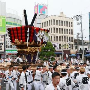 2019年貝塚市太鼓台祭り (西町太鼓台)