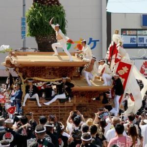 2019年岸和田だんじり9月祭礼 (宮本町)