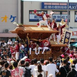 2019年岸和田だんじり9月祭礼 (紙屋町)