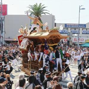 2019年岸和田だんじり9月祭礼 (中之濱町)