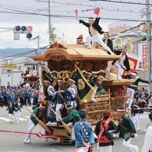 2019年東岸和田だんじり祭(10月祭礼)試験曳き 葛城町