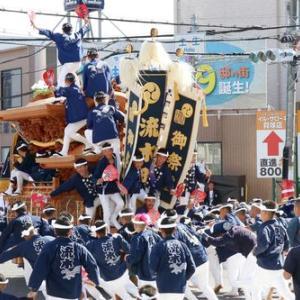 2019年東岸和田だんじり祭(10月祭礼)試験曳き 流木町