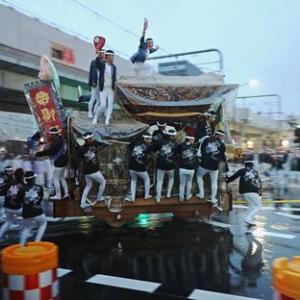 2019年東岸和田だんじり祭(10月祭礼)宵宮 畑町