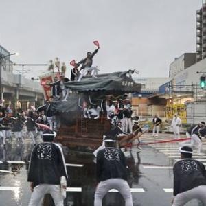2019年東岸和田だんじり祭(10月祭礼)宵宮 極楽寺町
