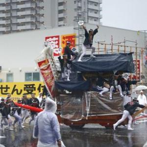 2019年東岸和田だんじり祭(10月祭礼)宵宮 八田町