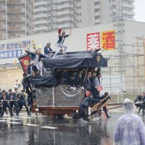 2019年東岸和田だんじり祭(10月祭礼)宵宮 土生瀧町