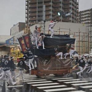 2019年東岸和田だんじり祭(10月祭礼)宵宮 真上町