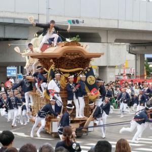 2019年東岸和田だんじり祭(10月祭礼)本宮 流木町