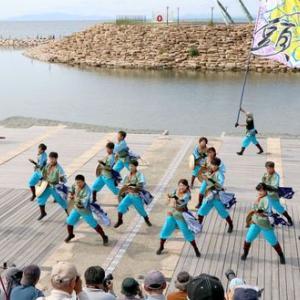 第16回泉州YOSAKOI ゑぇじゃないか祭り よさこい踊り屋 『菊頭』