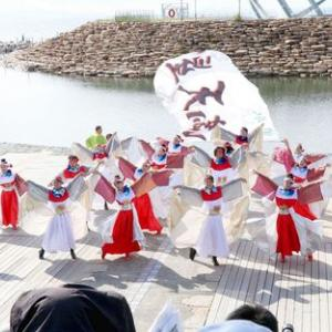 第16回泉州YOSAKOI ゑぇじゃないか祭り チーム満天星