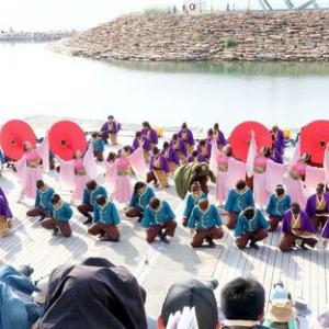 第16回泉州YOSAKOI ゑぇじゃないか祭り 四天王寺大学YOSAKOIソーラン部 仏喜踊