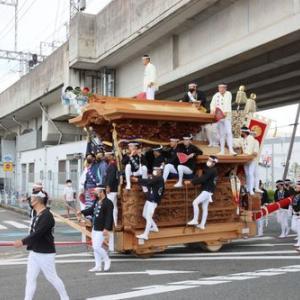 2021年岸和田だんじり祭り 9月祭礼(上町)