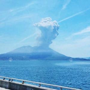 桜島の爆発・噴煙